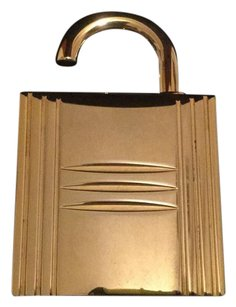 Hermès Hermes Kelly Executive Refillable Jewel Lock Perfume Bottle Gold LtdEd