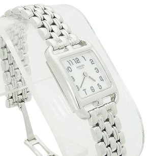 Hermès Hermes Paris 18k White Gold Cape Cod Ladies Watch