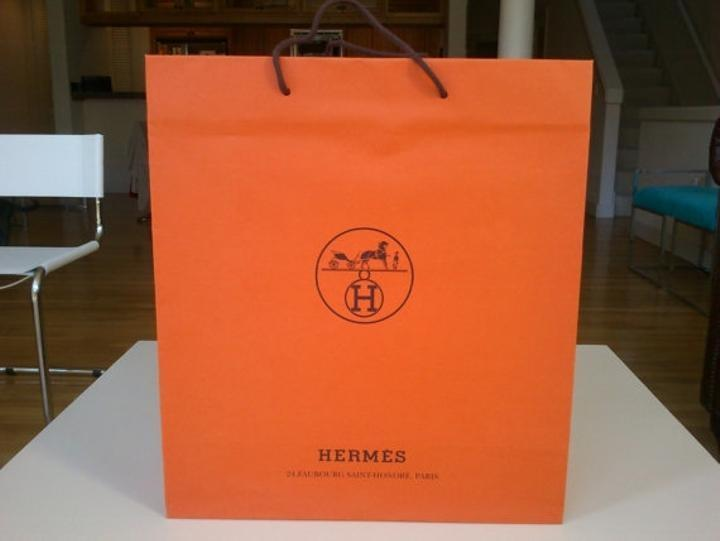 Hermes Perfume Sample Skin care + Gift bags and boxes on Tradesy