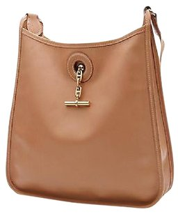 Hermès Courchevel Leather Vespa Pm 28cm Messenger Cross Body Bag
