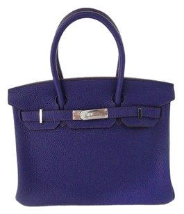 Hermès Satchel in Ultra Violet/ Purple