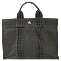 Herms Tote in Dark