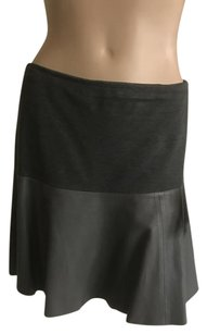 Hinge Mini Skirt Grey