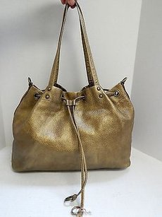 Hobo International Antique Tote in Gold