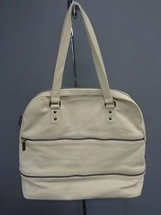 Hobo International Leather Casual B3074 Tote in Ivory