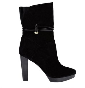 House of Harlow 1960 Black Suede Boots