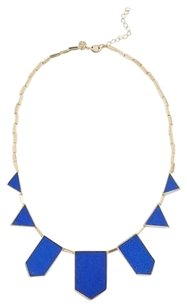 House of Harlow 1960 House of Harlow 1960 Cobalt Leather Five Station Necklace