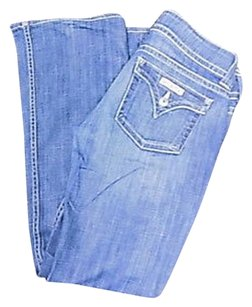 Hudson Jeans Blue Stretchy Boot Cut Jeans