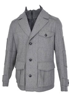 Hugo Boss Men's Jacket Pea Coat