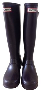 Hunter Aubergine Boots