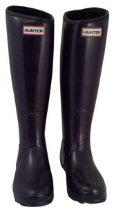 Hunter Balmoral Neoprene Aubergine (Deep Purple) Boots