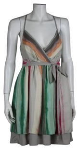 Hype Womens Gray Green Sheath Dress