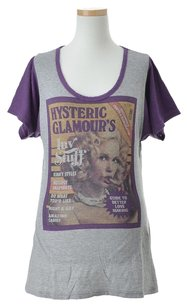 Hysteric Glamour Women's Clothing T Shirt Grey