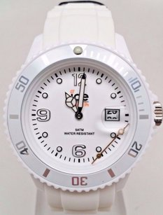 Ice Ice Watch Si.we.u.s.09 Unisex Silicone White Watch