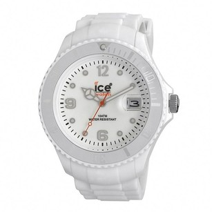 Ice Watch Ice Watch Mens Si.we.bb.s.11 White Dial White Silicone Strap Quartz Watch