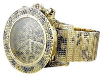 IceTime Mens Icetime Crown Joe Rodeo Safari Super Avenger Diamond Watch Band Ct