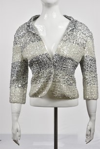 Iisli Womens Sequined Sweater