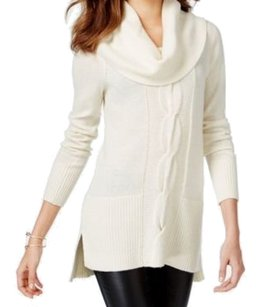 INC International Concepts 3-4-sleeve 5d487wh899 Cowl-neck 3515-0198 Sweater