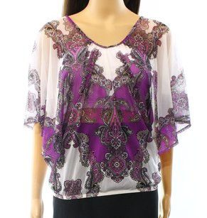 INC International Concepts 56356yu899 Batwing Top