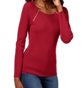 INC International Concepts 5n400re899 Long Sleeve Sweater