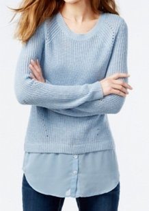 INC International Concepts 5n467ow899 Long Sleeve Sweater