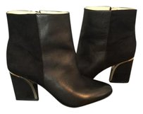 INC International Concepts Black with Gold on the heel Boots