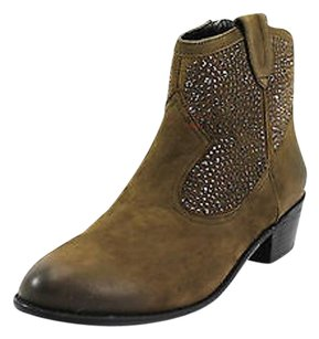 INC International Concepts Womens Man Made brown Boots