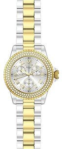 Invicta INVICTA Angel Silver Dial Two-tone Ladies Watch IN16998