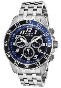 Invicta Invicta Mens 14511 Pro Diver Analog Display Swiss Quartz Silver Watch