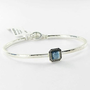 Ippolita Ippolita Stella Lollipop Toglette Bracelet 0.12cts Diamond London Blue Topaz 925