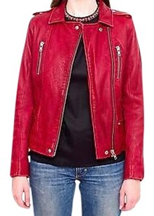IRO For Intermix Bordeaux Motorcycle Jacket