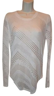 IRO Perforated Long Sleeve Lightweight Sweater