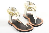 Isabel Marant Shell Cream Sandals