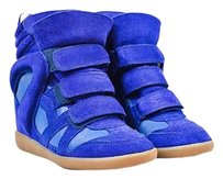 Isabel Marant Suede Blue Athletic
