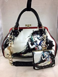 Isabella Fiore Very Rare Satchel in Multi-Color
