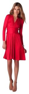 ISSA London Middleton Engagement Red Dress