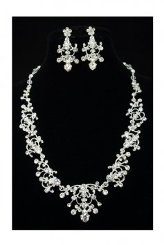 Bridal Wedding Necklace Earrings Set