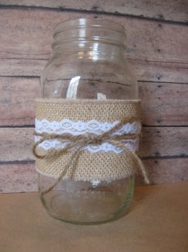 Burlap Rustic Wedding Decor
