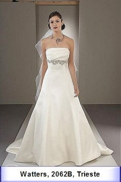 Watters #166 Trieste 2062b Wedding Dress