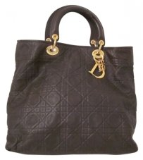 Christian Dior Tote in Dark Brown