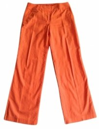 J.Crew Wide Leg Pants Orange