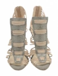 Loeffler Randall Stingray Smoke Sandals