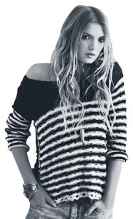 Free People Stipes Sweater