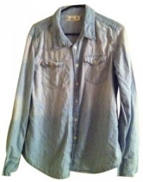 Urban Outfitters Button Down Shirt Denim