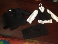 Angels Baby Tuxedo Worn By Ring Bearer