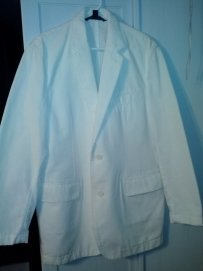 Express Men's Ivory Blazer