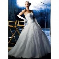 Oleg Cassini Ct258 Wedding Dress