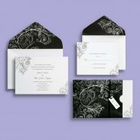 Brides Chalkboard Style Invitations
