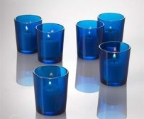 72 Cobalt Blue Votive Holders & 72