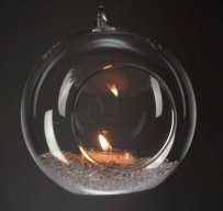 24 Hanging Bubbles Tea Light Holders